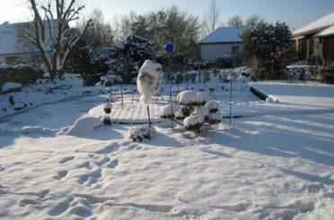 Koi im winter der richtige schutz der koi shop for Koi teich winter