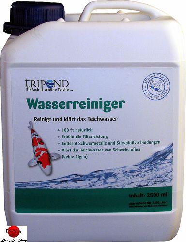 Tripond wasserreiniger reinigt und kl rt das teichwasser for Teichwasser