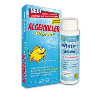 Set 1 x Winterstabil 1x Algenkiller Protect
