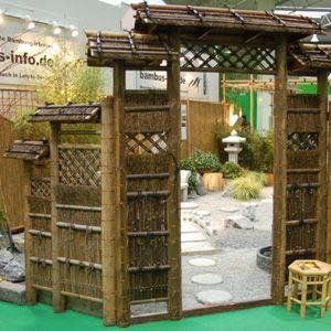 zaunelement sode gaki mit dach dunkel oder hell der koi shop gmbh. Black Bedroom Furniture Sets. Home Design Ideas