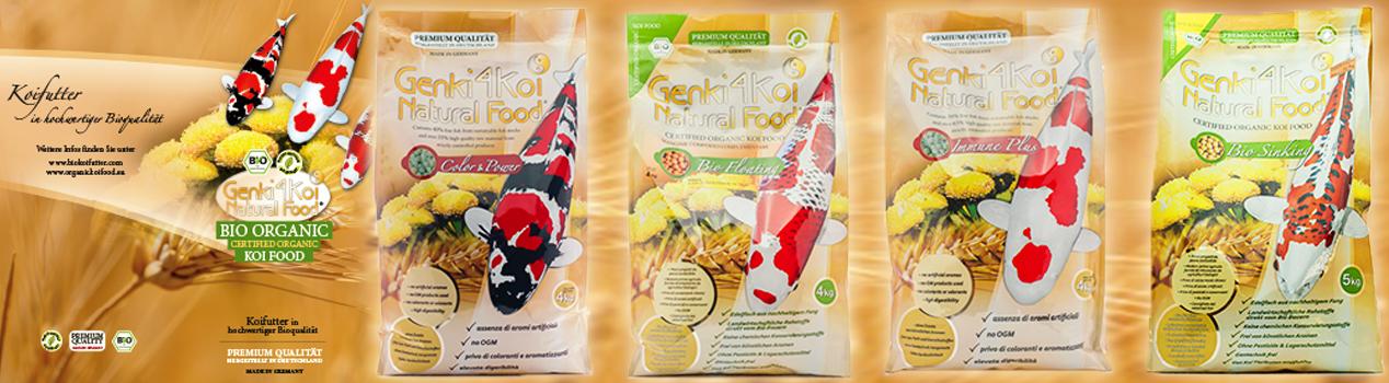 Genki4Koi Ntural Food